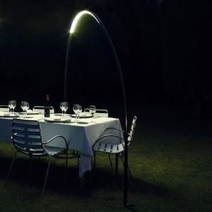Vibia   Halley Floor-to-Clamp Outdoor Floor Lamp modern-outdoor-lighting