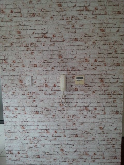 Red Faux Brick Wallpaper Wallpaper Sydney By Sydney
