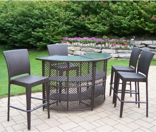 round patio bar set contemporary patio furniture and outdoor furniture