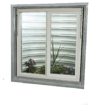 TAFCO WINDOWS Window. Egress Slider Replacement Windows, 31 in. x 36-1/2 in. x 3 - Contemporary ...