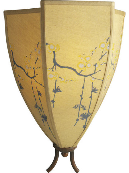 Paradise East Wall Sconce asian-wall-sconces