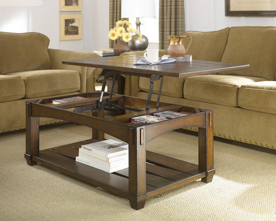 Lift-Top Storage Coffee Table - Tacoma by Hammary -