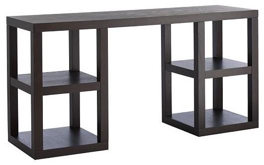 2 x 2 Console Desk contemporary-desks-and-hutches
