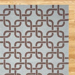 Chains Indoor-Outdoor Rug eclectic-rugs