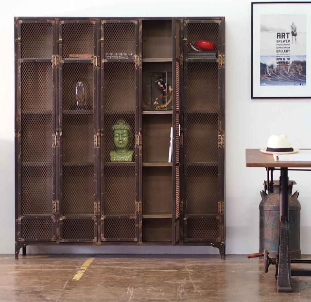 Allentown Locker Cabinet - Industrial - Storage Cabinets - los angeles ...