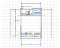 Help ideal appliance layout for mid size wet bar for Home wet bar dimensions