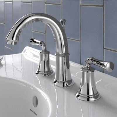 American Standard Portsmouth 7420801 Widespread Bathroom Sink Faucet modern-bathroom-faucets-and-showerheads