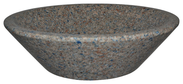 Quartz Vessel Sink : Granite & Quartz Vessel Vanity Sinks, Blue Sahara (Silestone Quartz ...