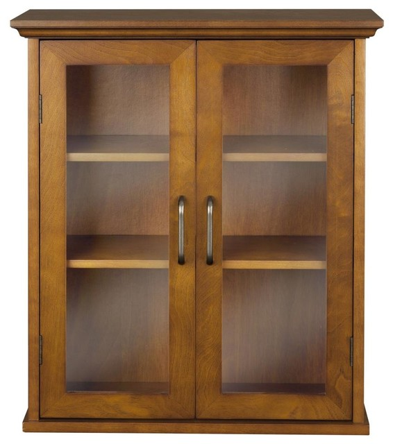 Avery Wall Cabinet with 2 Doors -Wood veneer with Oil Oak ...