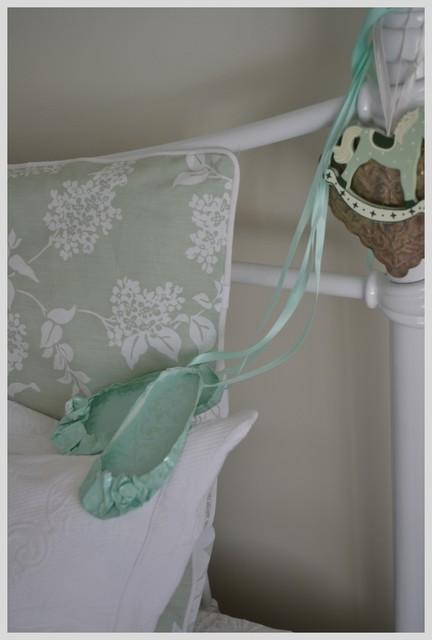 Serene girls room traditional