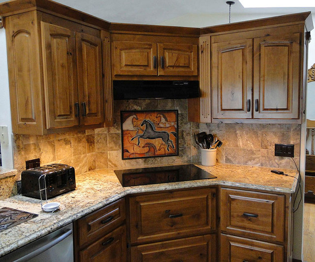 Southwest horse 3 contemporary tile tampa by the for Southwest kitchen designs