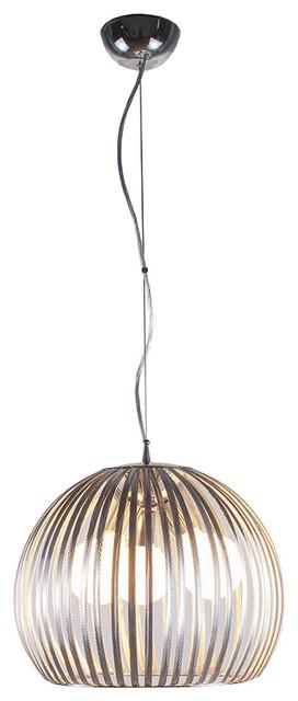 Bromi Design Fullerton Modern Stainless Steel Pendant contemporary-pendant-lighting