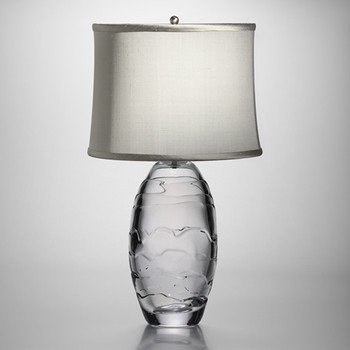 Simon Pearce | Simon Pearce Stowe Lamp modern-table-lamps