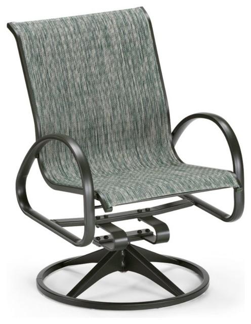 ... Aruba Sling Swivel Rocker - Modern - Rocking Chairs - by Hayneedle