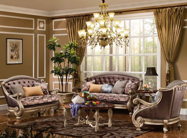 Odessa Living Room Collection traditional-sofas