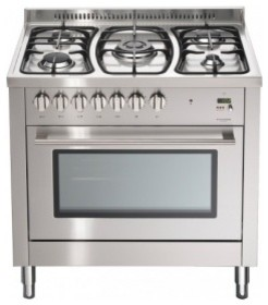 Multifunction electronic freestanding oven 90 cm Products - Fulgor contemporary-gas-ranges-and-electric-ranges