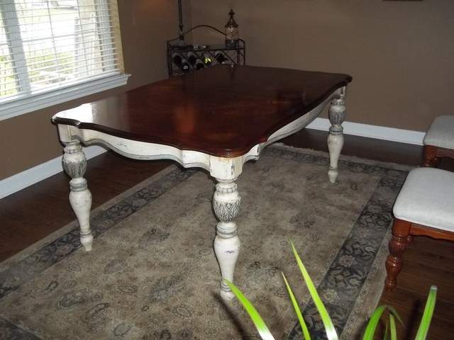 Custom Furniture Antique Refinishing Traditional Dining Tables Houston