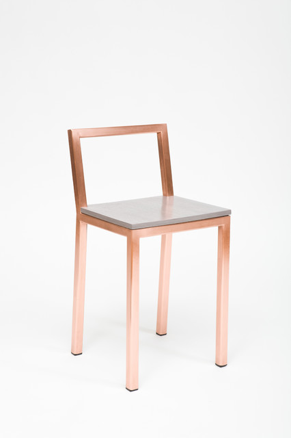 Copper Slight Chair Contemporary Bar Stools And