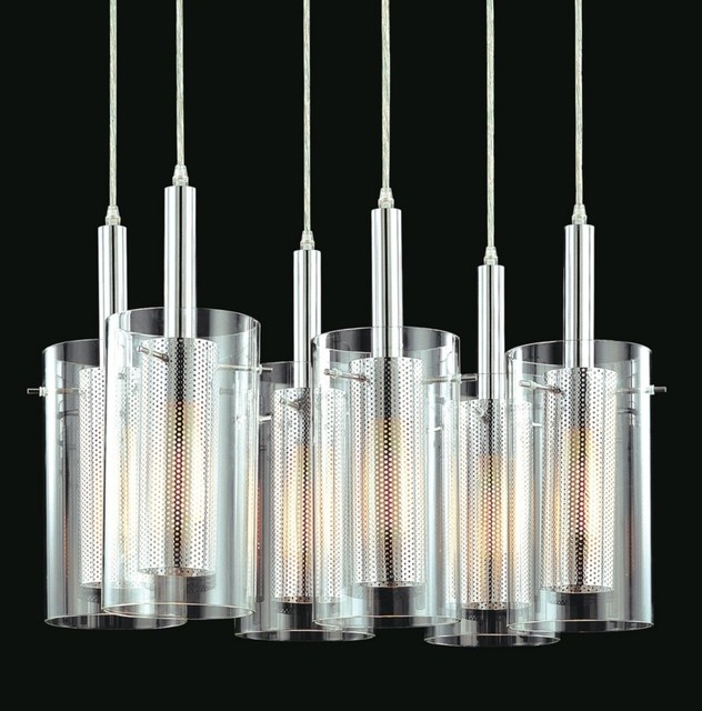 zylinder 6 light modern pendant chandelier contemporary chandeliers