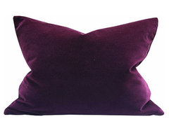 Square Pillow, Elizabethan Red contemporary-pillows