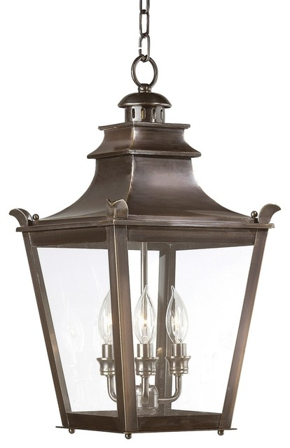 """Dorchester Collection 21"""" High Outdoor Hanging Light"""