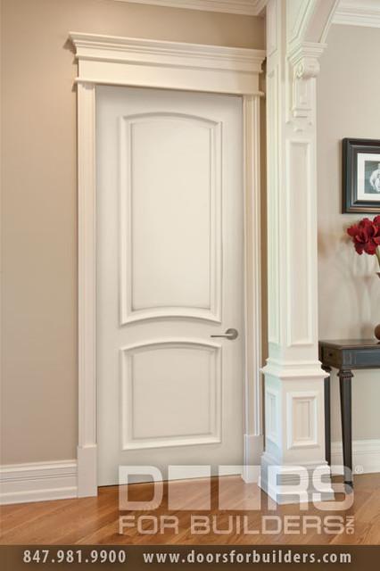 SOLID WOOD ENTRY DOORS-DOORS FOR BUILDERS, INC modern-interior-doors