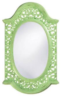 Bristol Round Mirror traditional