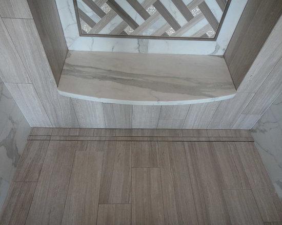 Inset-Tile Custom Drain Solution -