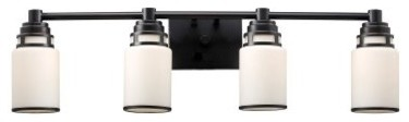 ELK Lighting Bryant 4-light Bathroom Vanity Light 11257/4 - 32W in. modern bathroom lighting and vanity lighting