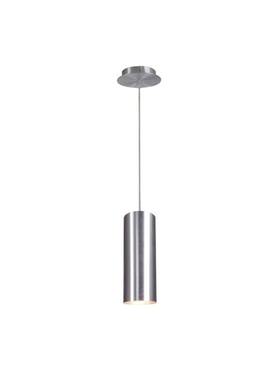 SLV Lighting - SLV Lighting | Enola Pendant Light - Design by SLV Lighting.Sleek, clean, and modern are the defining features of the Enola Pendant Light. This appealing fixture with its subdued design will feel at home in any space. Available in white and brushed aluminum finishes. Constructed of aluminum. Provides direct and ambient lighting.