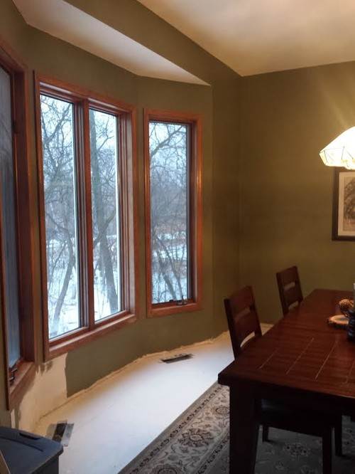 need help with quot rustic elegant quot dining room need help with cabinet color and backsplash to go with