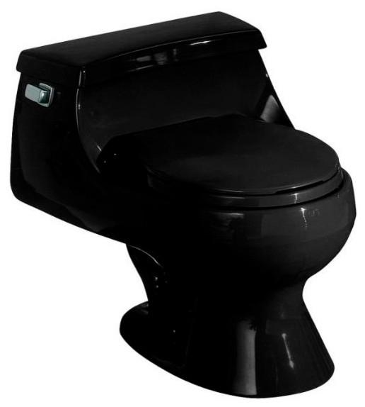 Kohler K 3386 7 Rialto One Piece Round Front Toilet