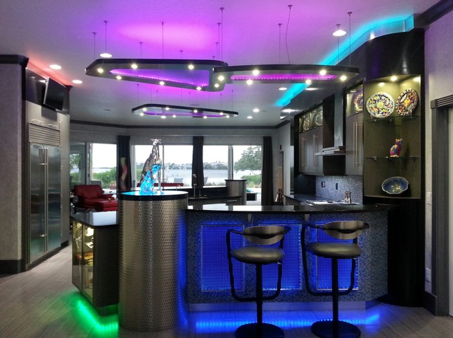 Contemporary Electro Led Kitchen Modern Kitchen Tampa By Tampa Bay Millworks Home