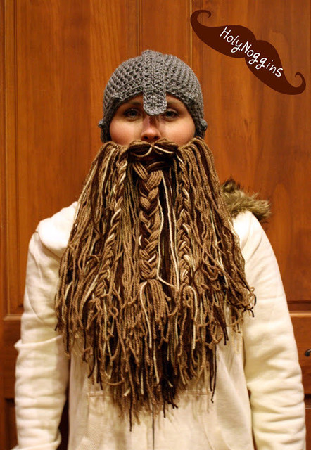 Hobbit Viking Beard and Hat by Holy Noggins - Eclectic - by Etsy