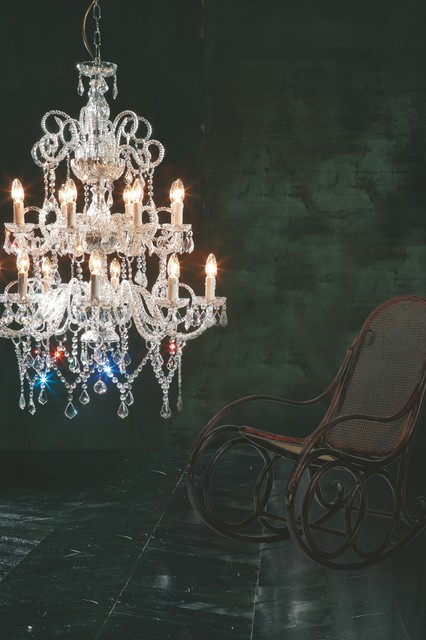 Murano blown glass  and Crystal fixtures and floor lamps traditional