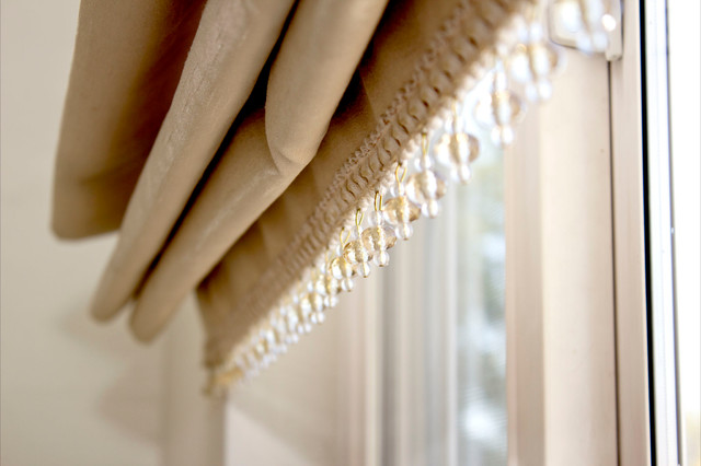 White House eclectic-roman-shades