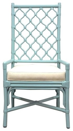 Ambrose Blue Dining Chair modern-dining-chairs