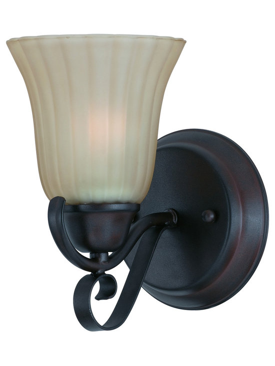 Triarch International - Triarch 33270/1 Value Series Bronze Wall Sconce - Triarch 33270/1 Value Series Bronze Wall Sconce