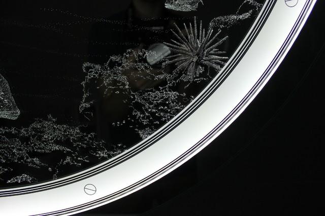 Reef Porthole Bathroom Light Mirror modern