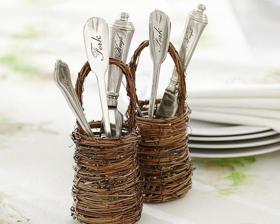 Mini Twig Flatware Basket -