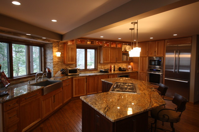 Luxury kitchens traditional kitchen cleveland by architectural justice - Luxury kitchen cabinets ...