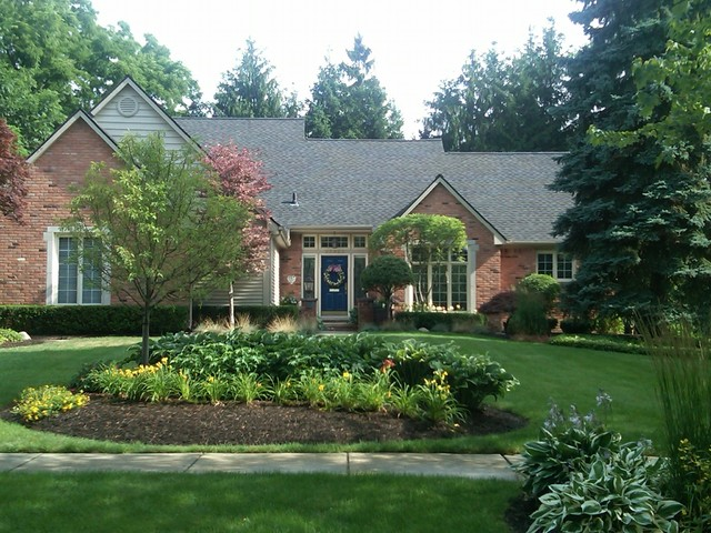 Farmington, Michigan Custom Home traditional-exterior