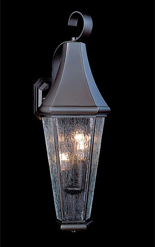 Le Havre Small Outdoor Wall-Mounted Lantern traditional-outdoor-lighting