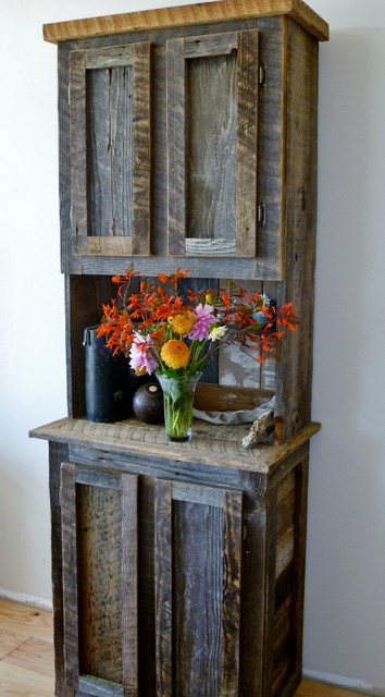 Barn wood furniture buffets-and-sideboards