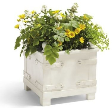 Classic Square Planter - Grandin Road contemporary-outdoor-pots-and-planters