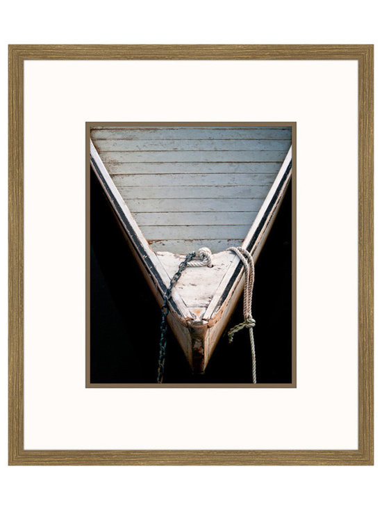 Big Fish Wooden Rowboats II Wall Art