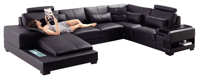 Couch With Built In Light And Table