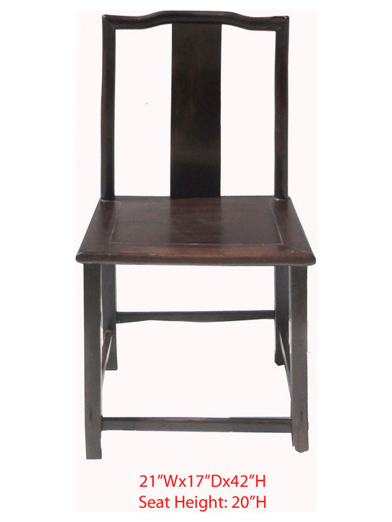 "Chinese Antique Ming Style Solid Red Wood SuanZhiMu Chair - This is a Chinese antique Ming style Chair which is made of solid red wood also called ""SuanZhiMu""."