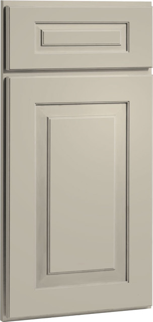 Cambridge Door | Painted Urban Stone Finish | CliqStudios.com Kitchen Cabinets traditional kitchen cabinets