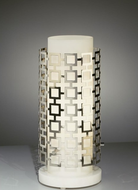 Robert Abbey-S660-Jonathan Adler Parker - One Light Table Torchiere contemporary-table-lamps
